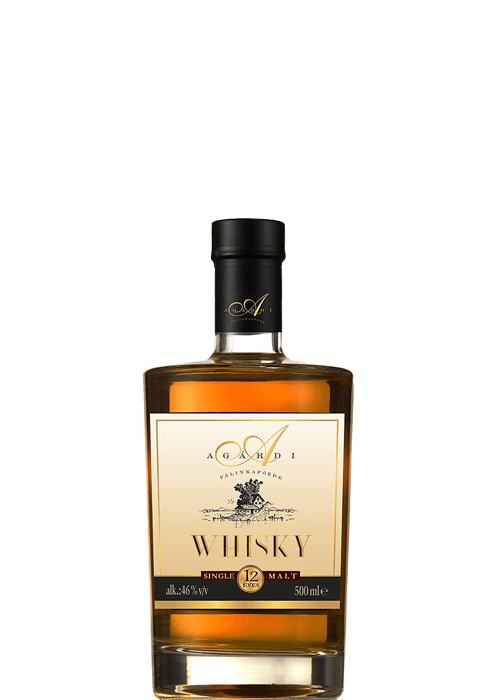 Agárdi Whisky 12 éves Single Malt 0,5 l