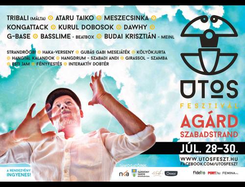 Ütős fesztivál – Agárd – 2017. július 28.  – 2017. július 30.